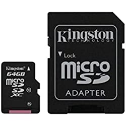Acce2s - Carte Mémoire Micro SD 64 Go Classe 10 pour Samsung Xcover 4S - 4-3