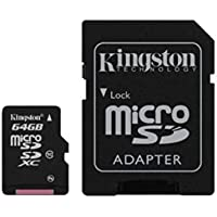 Acce2S - CARTE 64 GO CLASSE 10 pour SAMSUNG Galaxy J5 2016 MICRO SD HC + ADAPT SD integral
