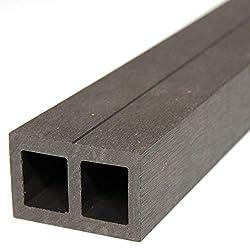 HORI® Unterkonstruktion für Terrassendielen aus WPC, Alu, Hartholz & Douglasie I 230 cm Unterkonstruktionslänge