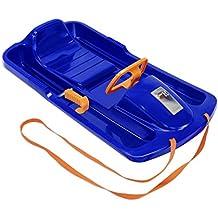 KHW Rodel Snow Fox - Trineo de descenso, color azul/naranja