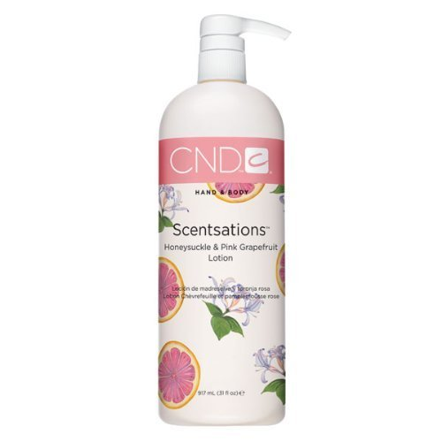 CND Creative Scentsations Hand & Body Lotion (31 oz) Honeysuckle & Pink Grapefruit by CND/Creative Nail Design [Beauty]