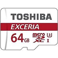 Toshiba EXCERIA M302 64Go carte mémoire Micro SD de 90 Mo / s 4K - THN-M302R0640EA