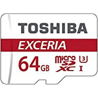 Toshiba EXCERIA M302-EA - Tarjeta de memoria MicroSDXC de 64GB (UHS-I, Clase 10)