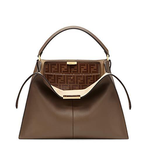 Fendi Damen 8Bn304a5e9f1qtq Braun Leder Handtaschen