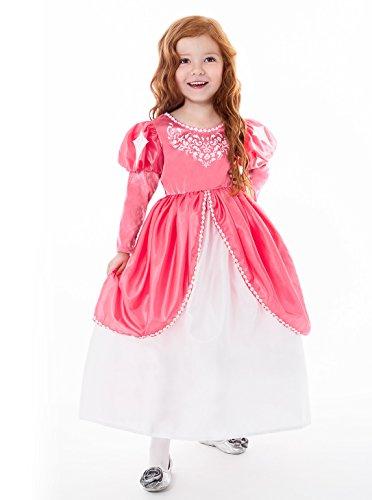 nig Abenteuer traditionellen Meerjungfrau Ballkleid Mädchen Prinzessin Kostüm–Medium (3–5Jahre) ()