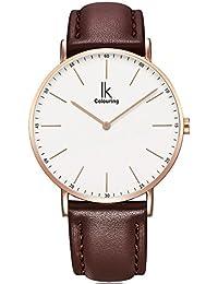 Armbanduhr damen leder braun  Suchergebnis auf Amazon.de für: damenuhren lederarmband braun: Uhren