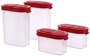 Tupperware Modulaire Spice Shaker Set, Lot de 4(128)