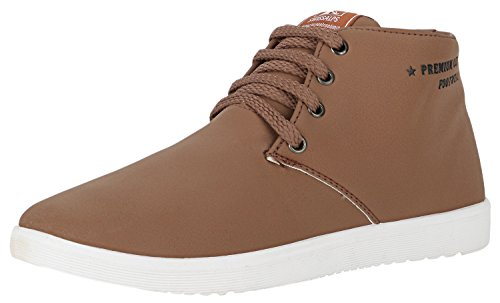 Globalite Men's Casual Shoes Roadster Brown -7  available at amazon for Rs.349