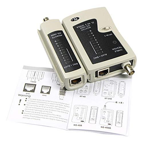 TFXHGM Topqualität RJ45 RJ11 RJ12 CAT5 Cat 6 UTP Netzwerk Lan Tester Tool (Tester Cat5-6)