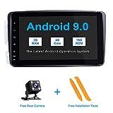 ZLTOOPA Android 9.0 Autoradio für Mercedes Benz W209 W203 W168 W163 W463 Viano W639 Vito Vaneo Auto-Stereo-In-Dash-GPS mit WiFi OBD SWC