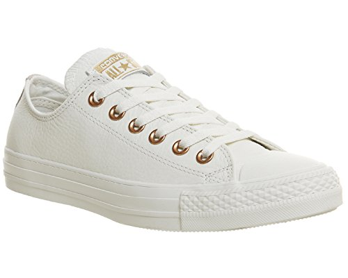 Converse  Chuck Taylor All Star Mono Ox,  Sneaker unisex adulto Egret Rose Gold Snake Exclusive