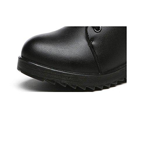 Stivali da donna Acqua fredda a testa piatta Inverno caldo protezione della caviglia 38