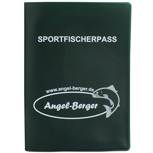 Angel Berger Fischereischein Ausweismappe