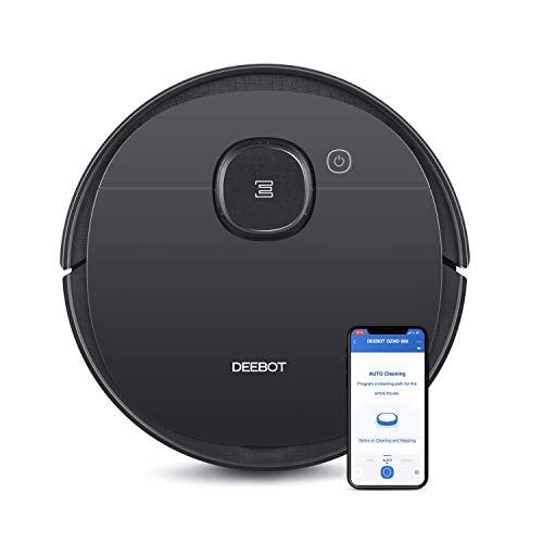ECOVACS DEEBOT OZMO 950 Saug- & Wischroboter - 2-in-1 Staubsauger-Roboter mit Wischfunktion & intelligenter Navigation - Mit Google Home, Alexa- & App-Steuerung