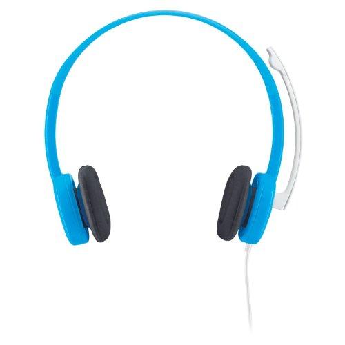 Logitech Stereo Headset H150 Borg Blueberry Micro-casque Microphone anti-parasite Commandes audio intégrées Bleu
