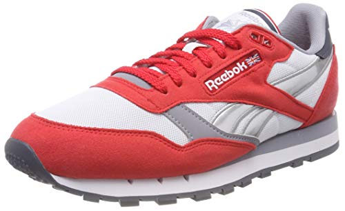 964a75c46b2 Reebok Herren Classic Leather RSP Fitnessschuhe Mehrfarbig (Primal  Red/White/Cool Shadow/