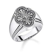 THOMAS SABO Women Silver Piercing Ring TR2244-637-21-52