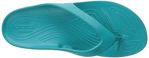 Crocs Kadee II Flip Women, Tongs Femme Bleu (Turquoise)