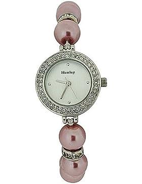 Henley H07187.5Glamour–Armbanduhr Damen Rosa