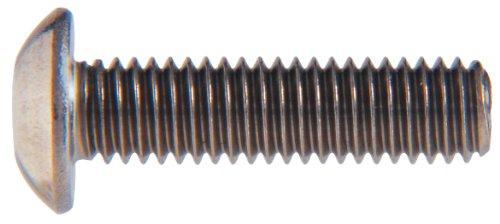 Le groupe Hillman 44464 M4–0,70 x 14 métrique en acier inoxydable Bouton Douille Bouchon à vis, jaunes
