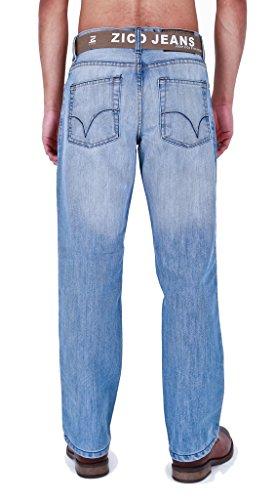 Zico Jean pour homme Bleu - Light Wash