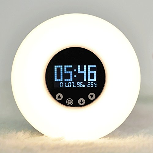 newest-wake-up-light-digital-led-display-time-date-humidity-temperature-clock-rgb-white-adjustable-7