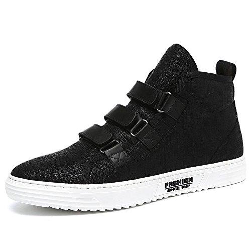 Toile de marée chaussures élevée en automne et en hiver plus chaud polaire chaussures chaussures occasionnelles