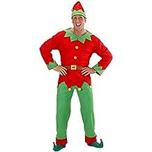 Costume Adulto Elfo uomo aiutante di babbo natale Taglia L 25a3248c5164