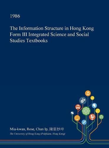 The Information Structure in Hong Kong Form III Integrated Science and Social Studies Textbooks