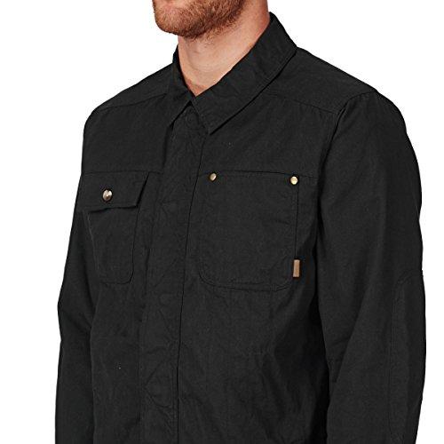 Herren Trainingjacke Vans Tanka II Jacket Black