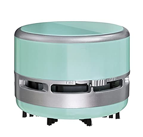 Clauss Handvac 2Clean Battery Operated Mini Cleaning Kit - mintgreen/silver
