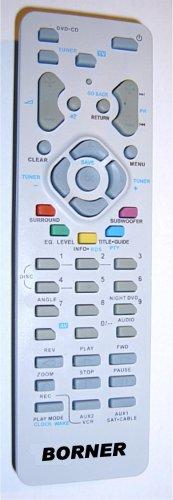 Sostituzione Telecomando BRAND BORNER adatto per sintonizzatore TV Thomson e DVD RCT311AC1