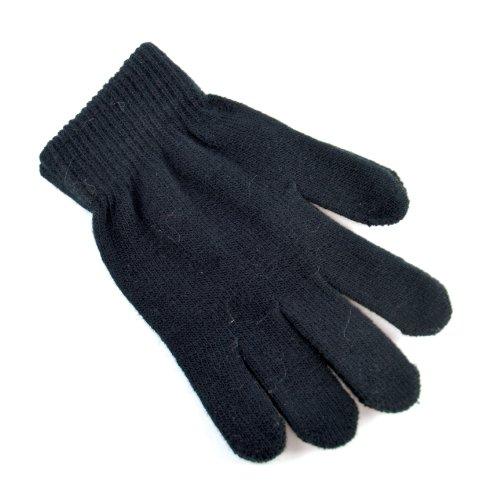 Damen Strick-Handschuhe Magic Gloves, GL155, Einheitsgröße  - Schwarz - Schwarz - One size (Gloves Damen Magic)