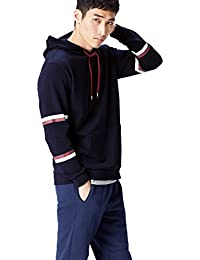 FIND Men's Hoodie with Long Sleeves and Regular Fit