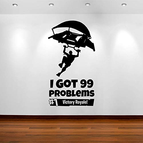 YSQLLA Spiele Gaming Victory Xbox Ps4 Teens Boy Room Aufkleber Wand Vinyl Aufkleber Kunst Wohnkultur Aufkleber Für Kinderzimmer Wandbild Poster60X100Cm