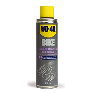 WD-40 Bike - Lubrificante catena bici spray al PTFE, 250 ml 2 spesavip