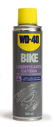 WD40 12230 Schmiermittel Kette Bike Spray, Transparent, 250 ml