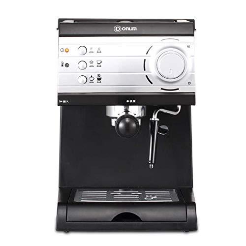 DIDIOI Kaffee-Maschine, elektrische Kaffeemaschine, halbautomatische Espressomaschine Hochdruck-Dampf Gewerbe Milch-Kaffee-Maschine für Home Office