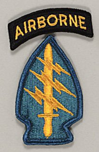 United States Army Vietnam War Special Forces cloth sleeve patch