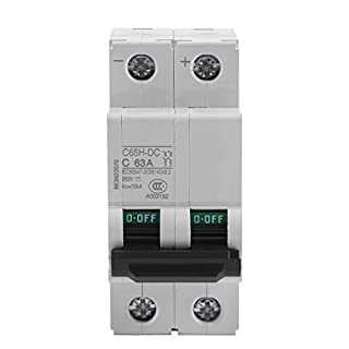 250V DC 2P Low-voltage Miniature Air Circuit Breaker Solar Energy Switch 16A/32A/63A (63A)