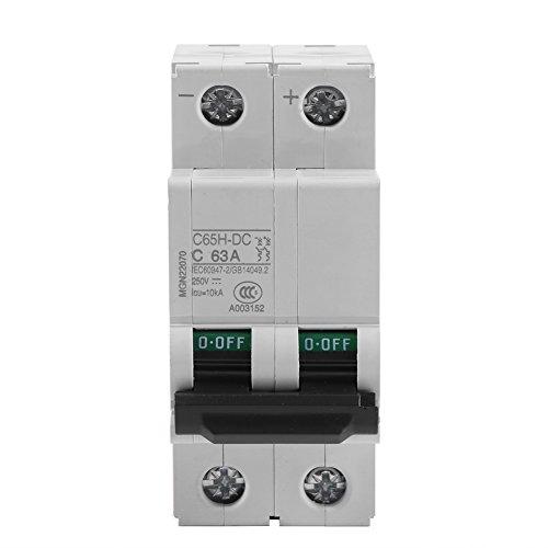 250V DC 2P Niederspannungs-Miniatur-Leistungsschalter Solar Energy Switch 16A/32A/63A(63A) -