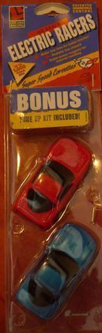 Lifelike HO Scale Chevy Corvette Slot Car set by Life Like