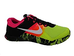 Nike Metcon 2 - Trainers, Men, Green - (Voltblack-white), 45