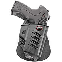 Fobus Fondina tattica retention Holster per pistola Beretta PX4 Storm Full size, Compact, Sub-Compact, Type F, D, G, SD, Inox, M9, 92A1 & 96A1, 96 Vertec 40 cal.