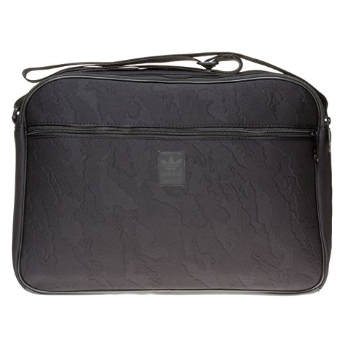 Adidas Airline Training Uomo Shoulder Bag Nero