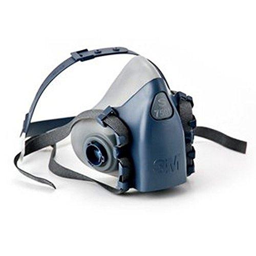 3M Atemschutzmaske Maskenkörper wiederverwendbar Halbmaske, klein, 7501