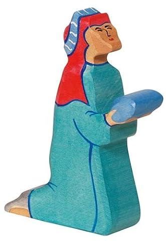 Holztiger Balthasar 2, blau, 80295