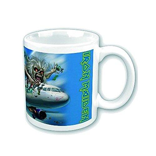 Iron Maiden Kaffeetasse Flight 666 Nue offiziell Weiß Boxed