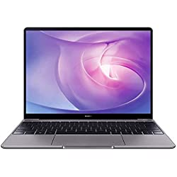 "HUAWEI MateBook - PC Portable - 13"" écran FullView tactile (Intel Core i7, RAM 8Go, SSD 512Go, Windows 10 Home, Clavier Français AZERTY) - Gris"