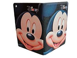 Ipad Mini 1/ 2 / 3 Case Cover Stand Magnetic Fastening Cute Blue Disney Mickey Mouse Cartoon Design UK SELLER